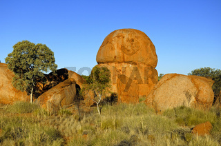 Devils Marbles bei Tennant Creek, Northern Territory, Australien