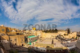 Autumn day in Jerusalem