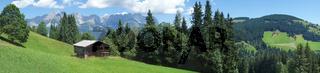 Panorama Wilder Kaiser / Tirol