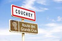 wine route, Couchey, Burgundy, France