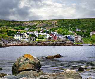 Fishing village in Newfoundland