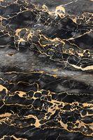 Dark marble with golden veins