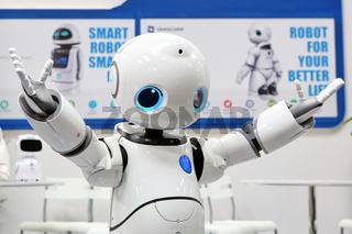 CeBIT 2017 - humanoider Roboter