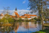 Telc castle in Czech Republic