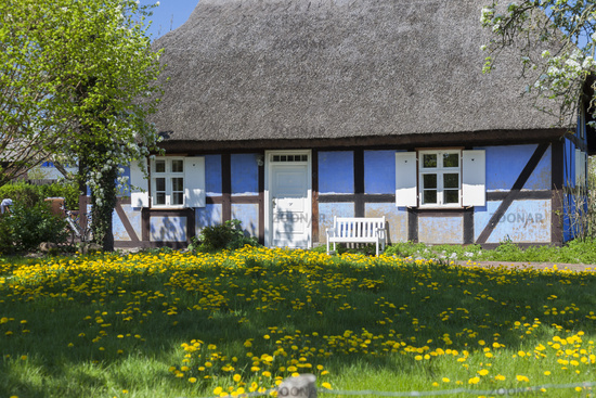 house on the island of usedom, germany