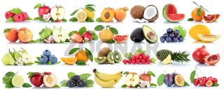Früchte Frucht Obst Collage Apfel Orange Banane Orangen Äpfel biologisch