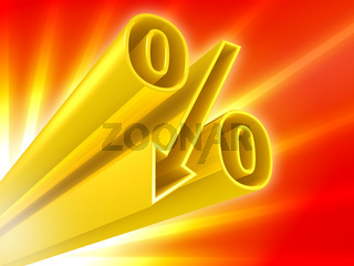 Golden percent discount