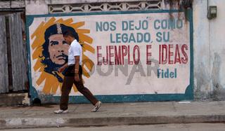 Che Guevara,Baracoa,Kuba