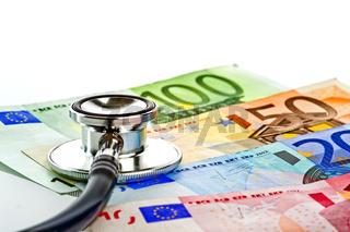 Symboldbild Kosten im Gesundheitswesen