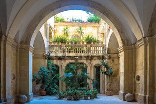 Italian Villa Entrance