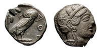 Tetradrachm of Athens IV century BC
