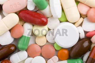 Ein Haufen Tabletten