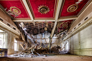 Abandoned Hotel in the Harz
