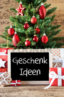 Colorful Christmas Tree, Geschenk Ideen Means Gift Ideas
