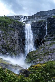 Kjenndalsbreen Gletscher in Norwegen