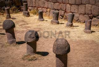Fertility temple in Chucuito
