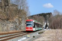 By tram into the Erzgebirge