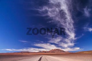 Desert Road in Altiplano