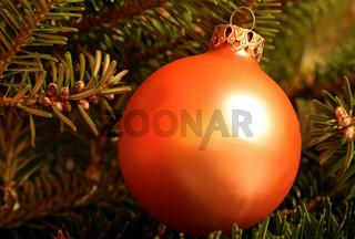 Weihnachtskugel, Christmas glitter ball