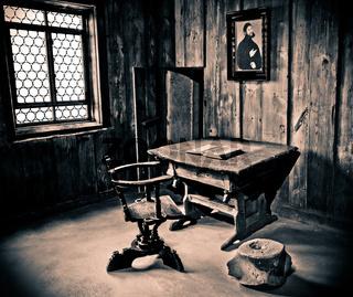 Martin Luther Schreibtisch