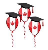 Graduation and three balloons with flag of Canada.jpg