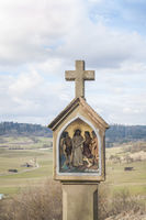Stations of the cross in Oberrot-Hausen, Germany