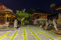 Temple in Ubud - Bali Island Indonesia