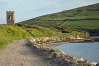 An Irish coastal landscape