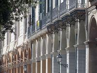 Old facades in Palma de Majorca