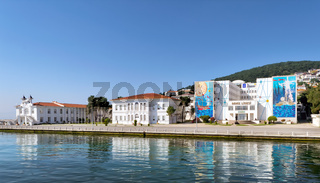 Naval High School, located on Heybeliada Island (the second largest of the Prince Islands) in the Sea of Marmara, to the southeast of Istanbul, Turkey