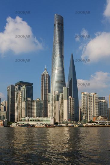 SHANGHAI TOWER, 632m