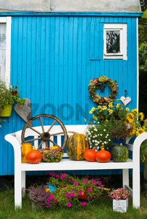 Herbstliche Gartenidylle