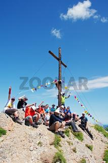'Gipfelstürmer' auf dem Rindalphorn - Wir haben es geschafft