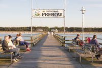 Pier in Prerow, Baltic Sea, Darss, Mecklenburg-Vorpommern, Germany