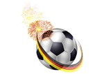 Fußball-Party
