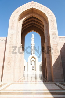 Arch in mosque