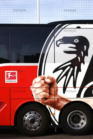 Team bus SC Freiburg