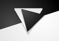 Black and white corporate background