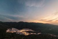 Moulay Idris sunset, Morocco