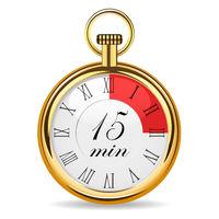 mechanical watch timer 15 minutes