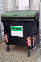 waste paper container