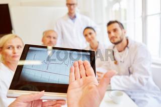 Analyse von Herzfrequenz im EKG