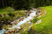 Natural creek in South Tyrol close to Vals