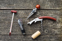 Luxury set of tools for winery.