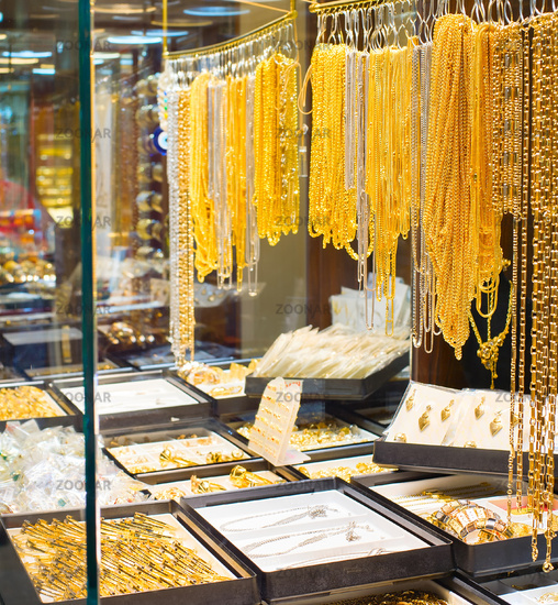 Tehran Grand Bazaar jewelry shops