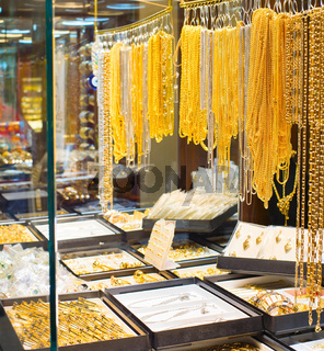 Tehran Grand Bazaar jewelry shops