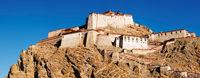 Tibetan buddhist monastery