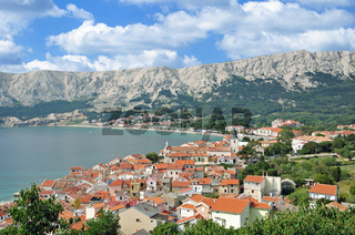 Urlaubsort Baska auf der Insel Krk,Adria,Kvarner Bucht,Kroatien