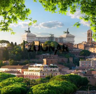 Vittoriano in Rome