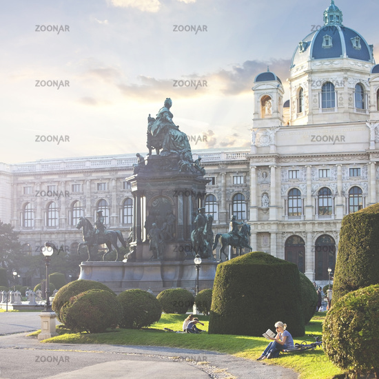 The Kunsthistorisches Museum (English Museum of Art History) of Vienna - Austria